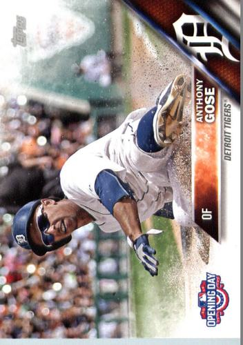 Photo of 2016 Topps Opening Day #OD160 Anthony Gose
