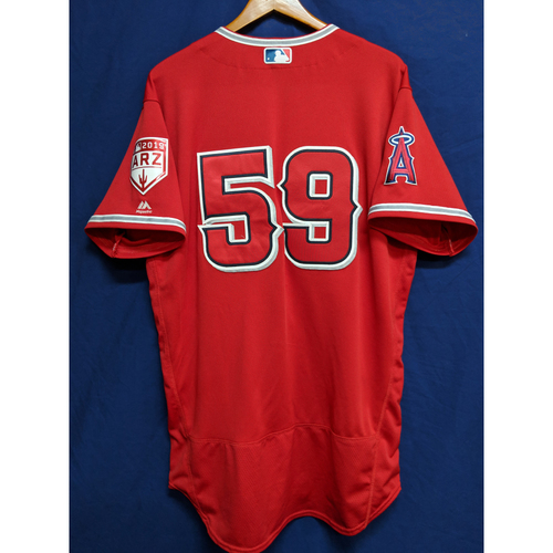 Photo of Jo Adell Team-Issued 2019 Spring Training Jersey