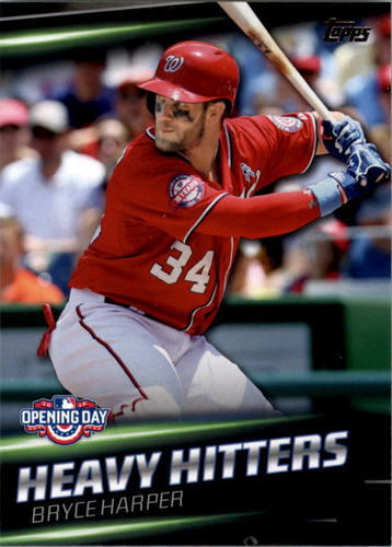 Photo of 2016 Topps Opening Day Heavy Hitters #HH1 Bryce Harper