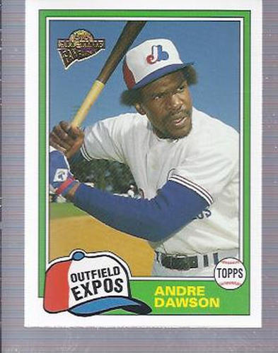 Photo of 2004 Topps All-Time Fan Favorites #29 Andre Dawson