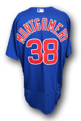 Photo of Mike Montgomery Team-Issued Jersey --2019 Season -- Size 50