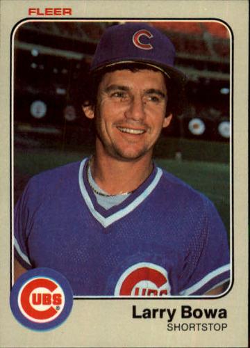 Photo of 1983 Fleer #491 Larry Bowa