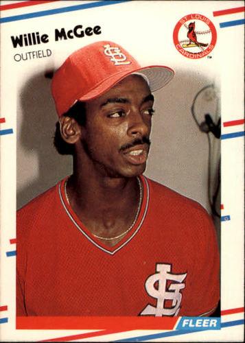 Photo of 1988 Fleer #42 Willie McGee