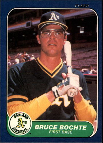 Photo of 1986 Fleer #413 Bruce Bochte