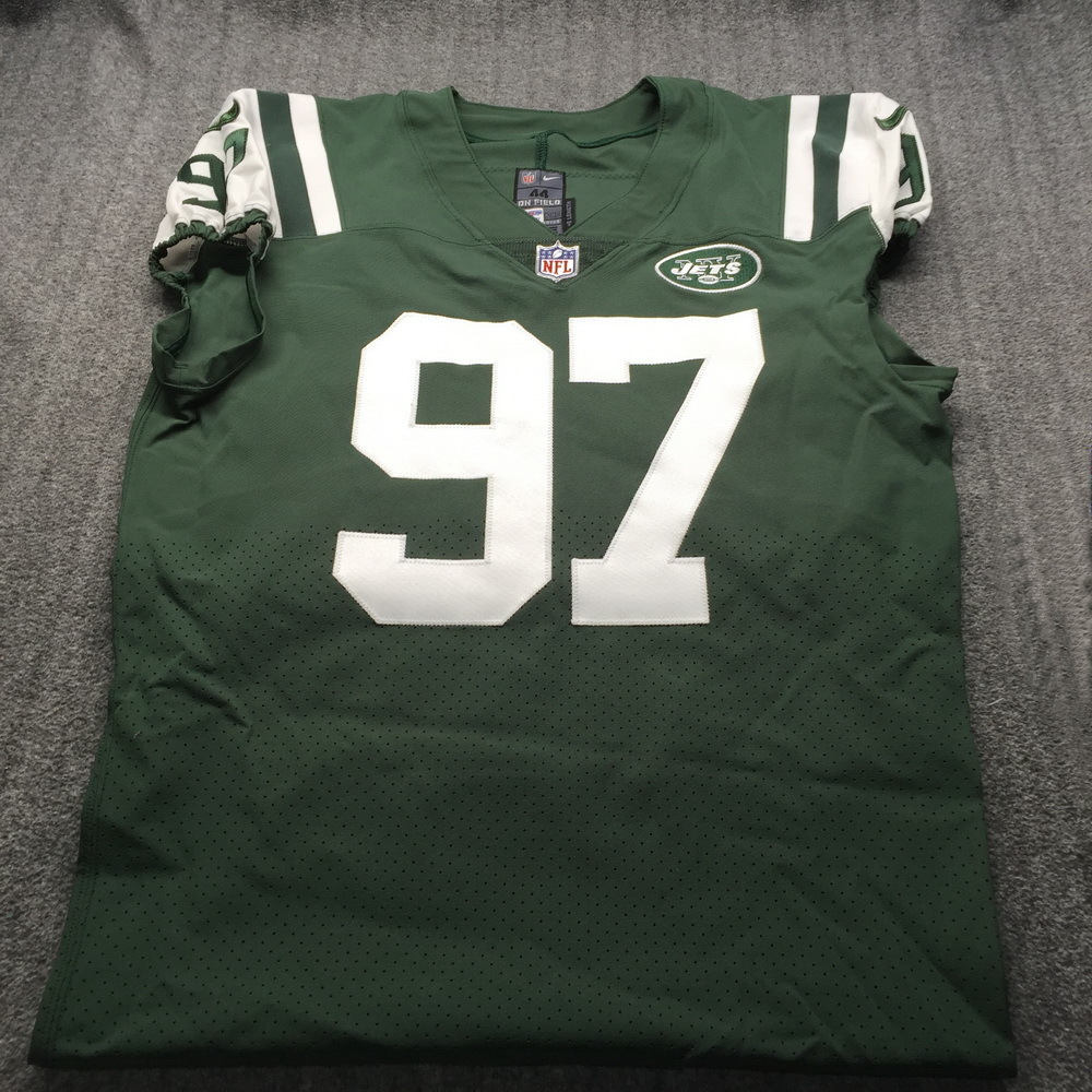 Jets - Thomas Team Issued Jersey Size 44