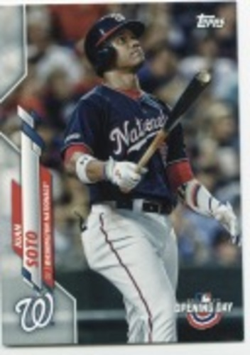 Photo of 2020 Topps Opening Day #27 Juan Soto