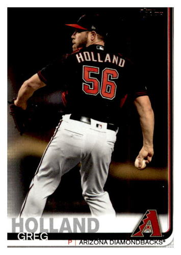 Photo of 2019 Topps Update #US190 Greg Holland