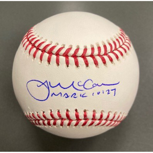 Photo of James McCann Autographed Baseball
