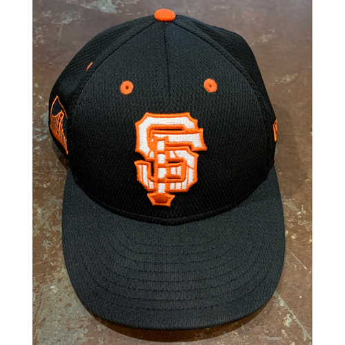 Photo of 2021 Team Issued Spring Training Cap - #28 Buster Posey - Size 7 1/4