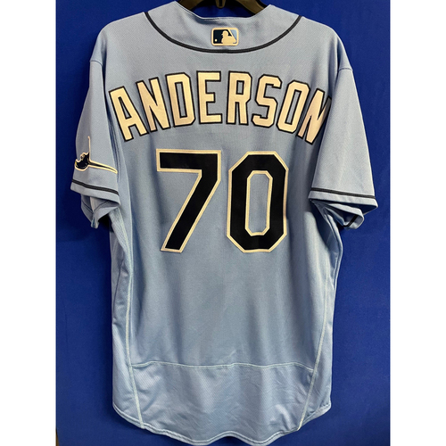 Photo of Game Used 2020 Spring Training Jersey: Nick Anderson  1 Game - February 24 v BOS