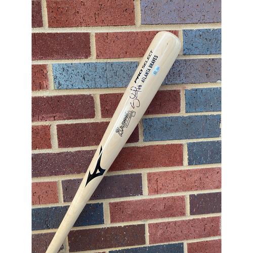 "Photo of Pablo ""Panda"" Sandoval MLB Authenticated Autographed Bat"