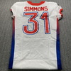 NFL - Broncos Justin Simmons Special Issued 2021 Pro Bowl Jersey Size 40