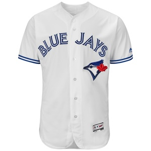 Toronto Blue Jays Men's Authentic Flex Base Home Jersey Big and Tall by Majestic
