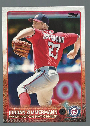 Photo of 2015 Topps #38 Jordan Zimmermann