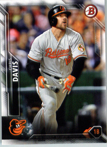 Photo of 2016 Bowman #12 Chris Davis