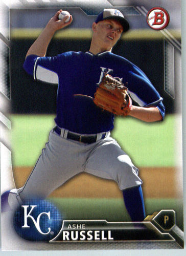 Photo of 2016 Bowman Prospects #BP75 Ashe Russell