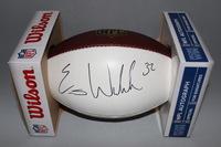 NFL - RAVENS ERIC WEDDLE SIGNED PANEL BALL