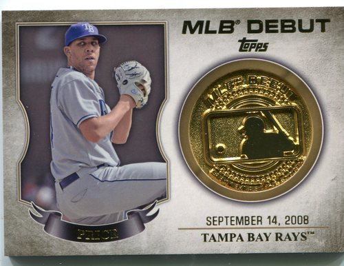 Photo of 2016 Topps MLB Debut Medallion David Price