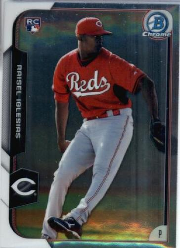 Photo of 2015 Bowman Chrome #183 Raisel Iglesias RC
