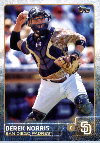 Photo of 2015 Topps Update #US167A Derek Norris