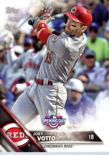 Photo of 2016 Topps Opening Day #OD164 Joey Votto