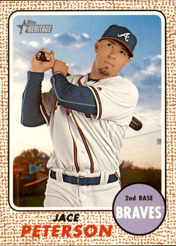Photo of 2017 Topps Heritage #98 Jace Peterson