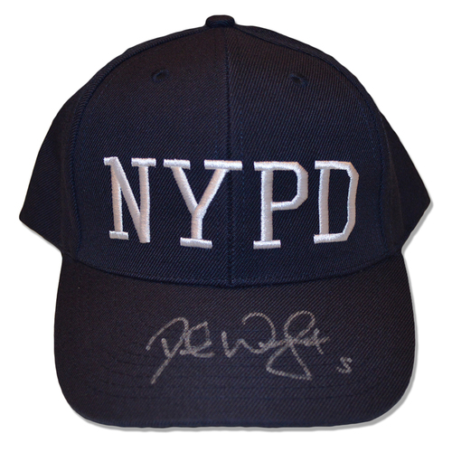 Photo of David Wright #5 - Autographed Adjustable First Responder Hat - 9/11/18