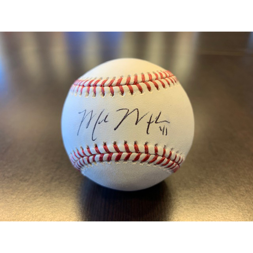Giants Wives Auction: Mark Melancon Autographed Baseball