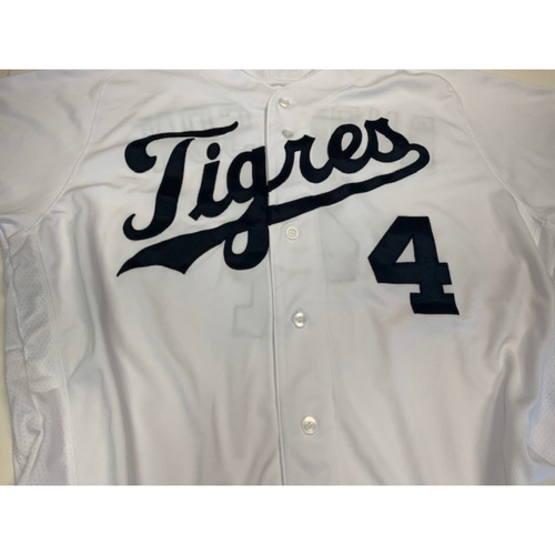 Photo of Team-Issued Fiesta Tigers Jersey: Rick Anderson