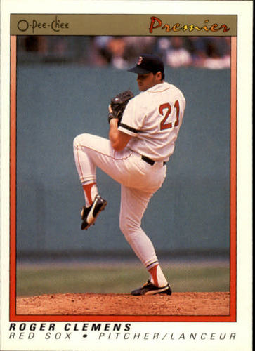 Photo of 1991 O-Pee-Chee Premier #23 Roger Clemens