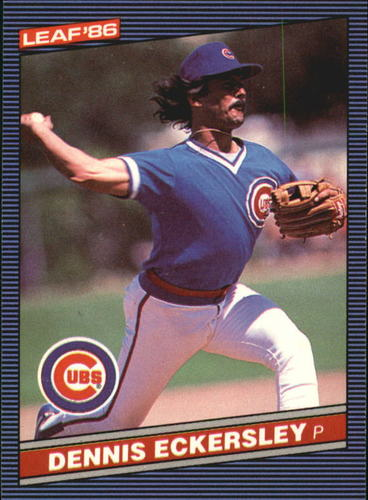 Photo of 1986 Leaf/Donruss #113 Dennis Eckersley