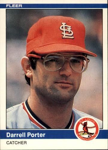 Photo of 1984 Fleer #331 Darrell Porter