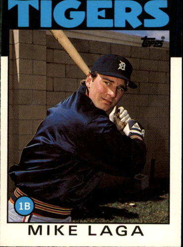 Photo of 1986 Topps Traded #59T Mike Laga