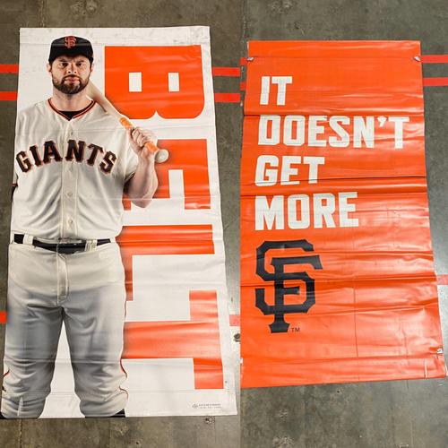 Photo of 2019 Street Banner - #9 Brandon Belt