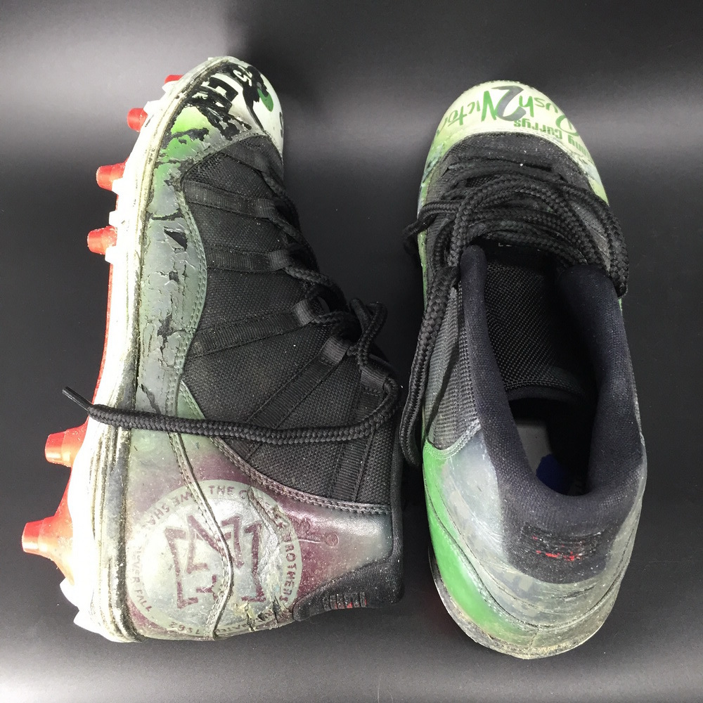 My Cause My Cleats - Eagles Vinny Curry Game Used Cleats 2019