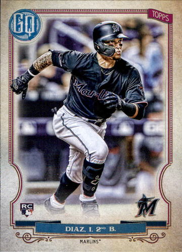 Photo of 2020 Topps Gypsy Queen #293 Isan Diaz RC