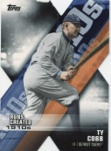 Photo of 2020 Topps Decade of Dominance #DOD8 Ty Cobb