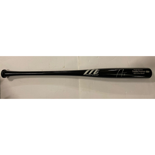 Photo of Freddie Freeman Autographed Bat - Not Game Used