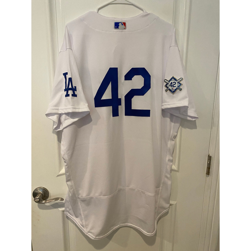 Photo of Kenley Jansen Game-Used Jackie Robinson Day Jersey - Size 48
