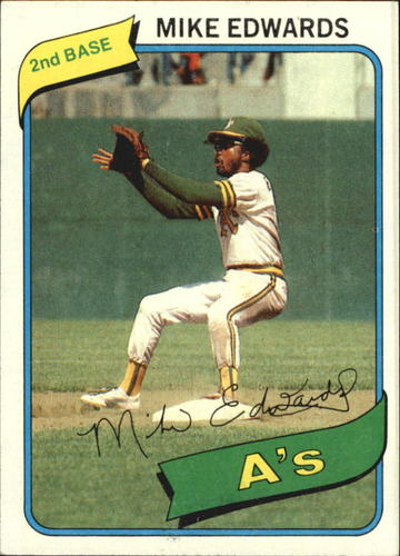 Photo of 1980 Topps #301 Mike Edwards
