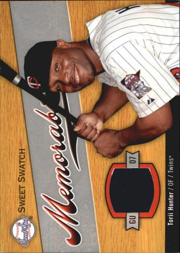 Photo of 2007 Sweet Spot Sweet Swatch Memorabilia #HU Torii Hunter