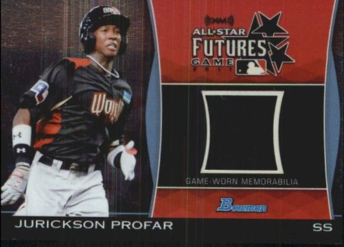 Photo of 2011 Bowman Draft Future's Game Relics #JPR Jurickson Profar