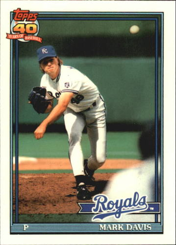 Photo of 1991 Topps Tiffany #116 Mark Davis