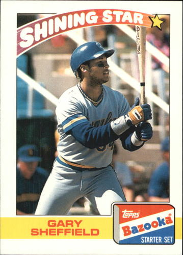 Photo of 1989 Bazooka #19 Gary Sheffield