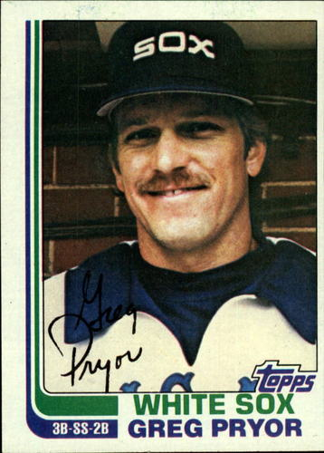 Photo of 1982 Topps #76 Greg Pryor