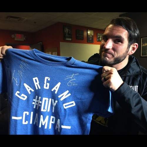 Photo of Gargano & Ciampa SIGNED Authentic T-Shirt (Size M)