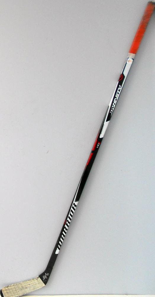 #42 AntonSlepyshev Game Used Stick - Autographed - Edmonton Oilers