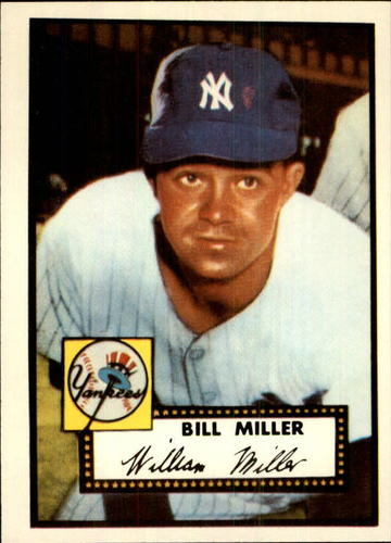 Photo of 1983 Topps 1952 Reprint #403 Bill Miller