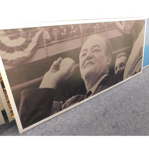 Photo of Target Field Met Club Bar Panels - Hubert Humphrey  - PICK-UP ONLY
