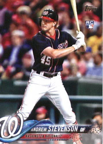 Photo of 2018 Topps #261 Andrew Stevenson RC